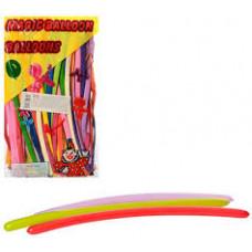 Надувні кульки, для моделювання, мікс кольорів
