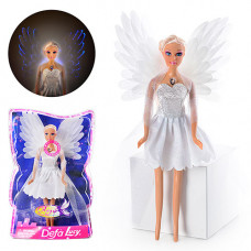 Лялька DEFA (48шт) ангел, світло, в слюді