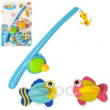 Рибалка іграшкова (вудочка з магнітом) 35-B
