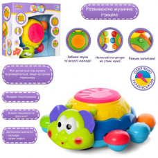 Іграшка розвиваюча 'Жучок' укр. ( рух, музичні та світлові ефекти)