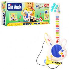 Іграшкова гітара+мікрофон 957