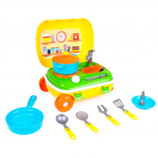 Кухня з набором посуду Технок, Арт.6078