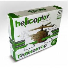 Конструктор дерев'яний ARINWOOD Гелікоптер 57 деталей 01-103