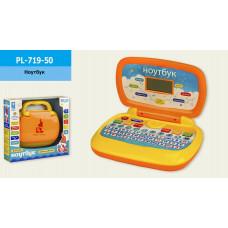 Ноутбук іграшковий, 6 функцій (укр)  PL-719-50