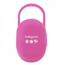 Футляр для пустушки (рожевий/зелений) Baby Ono