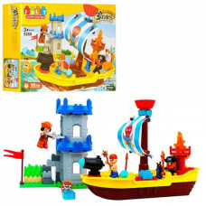 Конструктор JDLT 5269 'Замок піратів', 60 деталей