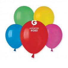 Кульки пастель 5', асорті А50/80, 05801, Gemar