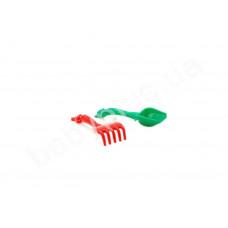 Пісочний набір 'Дзвіночок' №5  COLOR PLAST, сітка