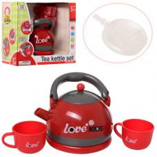 Іграшковий чайник, звук, пар, 008-920
