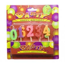 Свічки 'Цифри', до дня народження