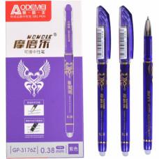Ручка 'пише-стирає' фіолетова