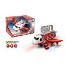 Літак 660 А-243, світло, звук, інерція, в коробці