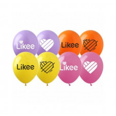 Кульки пастель, 12', Li-1 Likee, латекс, TM SHOW