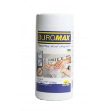 Серветки антисептичні, вологі, 100 шт. в пластиковій тубі