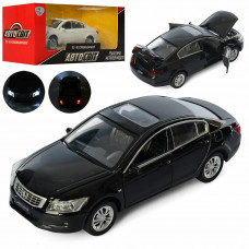 Машина AS-2701, АвтоСвіт, метал, інер, 15 см, зв, св, відкр. дв, рез. кол, бат-таб, 2 кол, в кор