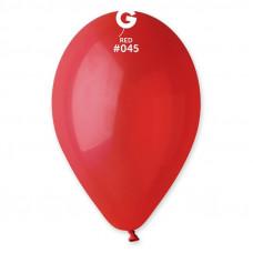 Повітряні кульки червоні 12' (30см), пастель