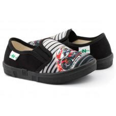 Дитяче взуття Patrick 26-32 чорний, мото