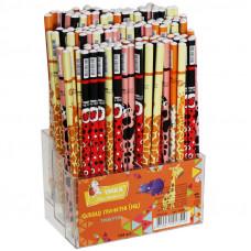 Олівець графітний, НВ, Fauna, колір асорті, ГК55, УМКА