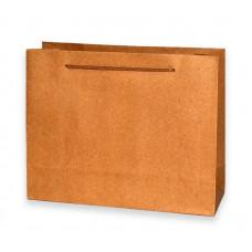 Пакет 39×30×25 см, Крафт, однотонний