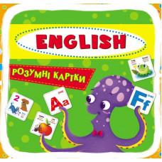 Розумні картки, 30 карток, English ABC